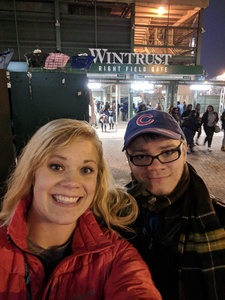 Brooke attended Chicago Cubs vs. Pittsburgh Pirates - MLB on Apr 11th 2018 via VetTix