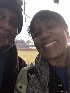 Lynda attended Chicago Cubs vs. Pittsburgh Pirates - MLB on Apr 11th 2018 via VetTix