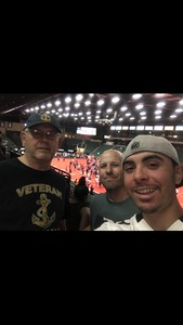 Mark attended Texas Revolution vs. Amarillo Venom - Cif on Jun 9th 2018 via VetTix