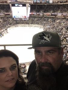 Marc attended San Jose Sharks vs. Calgary Flames - NHL on Mar 24th 2018 via VetTix