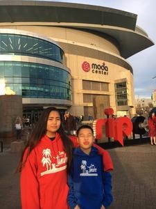 Casper attended Lorde: Melodrama World Tour on Mar 10th 2018 via VetTix