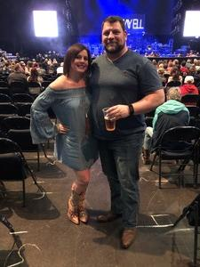 Todd attended Brad Paisley - Weekend Warrior World Tour With Dustin Lynch, Chase Bryant and Lindsay Ell on Apr 6th 2018 via VetTix