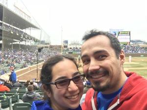Andrew attended Chicago Cubs vs. Atlanta Braves - MLB on Apr 13th 2018 via VetTix