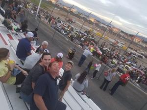 Hans attended Tucson Speedway: Double Trouble on Mar 31st 2018 via VetTix
