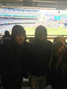Fredy attended New York Yankees vs. Baltimore Orioles - MLB on Apr 8th 2018 via VetTix
