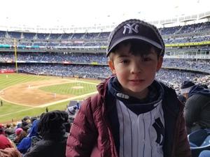Alex attended New York Yankees vs. Baltimore Orioles - MLB on Apr 8th 2018 via VetTix