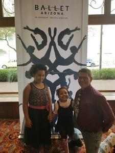 Kurt attended Today's Masters Performed by Ballet Arizona - Matinee on Mar 24th 2018 via VetTix