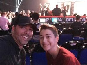 Danny attended Bellator 197 - Primus vs. Chandler 2 - Mixed Martial Arts - Presented by Bellator MMA on Apr 13th 2018 via VetTix