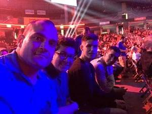 Ariel attended Bellator 197 - Primus vs. Chandler 2 - Mixed Martial Arts - Presented by Bellator MMA on Apr 13th 2018 via VetTix