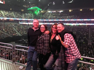 Gary attended Bon Jovi - This House Is Not for Sale Tour on Mar 17th 2018 via VetTix