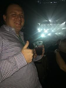 Arthur attended Bon Jovi - This House Is Not for Sale Tour on Mar 17th 2018 via VetTix