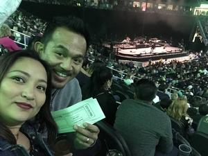 Jonas attended Bon Jovi - This House Is Not for Sale Tour on Mar 17th 2018 via VetTix