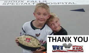 Jonathan attended Sioux Falls Storm vs. Nebraska Danger - IFL on May 12th 2018 via VetTix