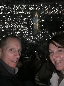 Ed and Sarah attended Blake Shelton With Brett Eldredge, Carly Pearce and Trace Adkins on Mar 17th 2018 via VetTix