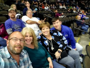 Eric attended Jacksonville Icemen vs. South Carolina Stingrays on Mar 31st 2018 via VetTix