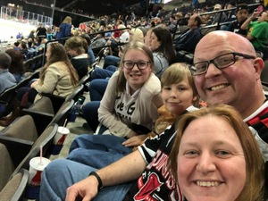 Michael attended Jacksonville Icemen vs. South Carolina Stingrays on Mar 31st 2018 via VetTix