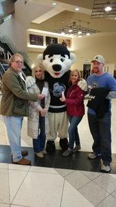 Robert attended Jacksonville Icemen vs. South Carolina Stingrays on Mar 31st 2018 via VetTix