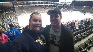 Heather attended Jacksonville Icemen vs. South Carolina Stingrays on Mar 31st 2018 via VetTix