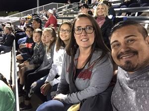Franklin attended Oakland Athletics vs. Seattle Mariners - MLB Spring Training on Mar 15th 2018 via VetTix