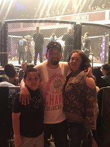 Robert attended Combate Estrellas I - MMA in Los Angeles - Mixed Martial Arts - Presented by Combate Americas on Apr 13th 2018 via VetTix