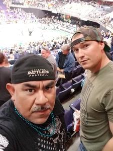 Reza attended Arizona Rattlers vs Nebraska Danger - IFL on Mar 24th 2018 via VetTix