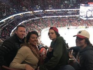 Mitch/DeAnn attended Anaheim Ducks vs. New Jersey Devils - NHL - Antis Roofing Community Corner! on Mar 18th 2018 via VetTix