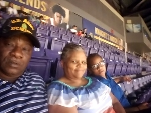 SFC Ronald Jenkins ( retired) attended Phoenix Suns vs. Detroit Pistons - NBA on Mar 20th 2018 via VetTix