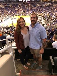 Joshua attended Phoenix Suns vs. Detroit Pistons - NBA on Mar 20th 2018 via VetTix
