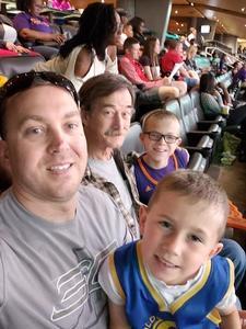 Dana attended Phoenix Suns vs. Detroit Pistons - NBA on Mar 20th 2018 via VetTix