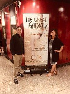 joseph attended The Great Gatsby on Apr 6th 2018 via VetTix