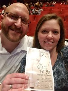 Samantha attended The Great Gatsby on Apr 6th 2018 via VetTix