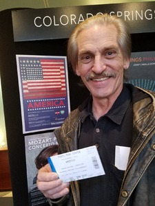 Thomas attended Philharmonic Pops presents: America - Friday on Apr 13th 2018 via VetTix