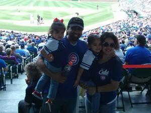 Jonathan attended Chicago Cubs vs. Colorado Rockies - MLB on May 2nd 2018 via VetTix