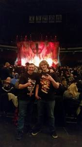 Nathan attended Judas Priest Firepower Tour 2018 on Mar 20th 2018 via VetTix