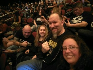 Dennis attended Judas Priest Firepower Tour 2018 on Mar 20th 2018 via VetTix