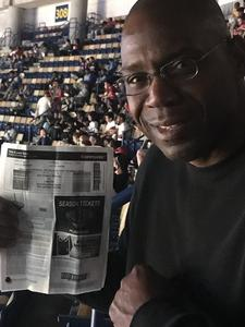 Gregory attended New Orleans Pelicans vs. Los Angeles Lakers - NBA on Mar 22nd 2018 via VetTix