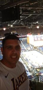 Alfredo attended New Orleans Pelicans vs. Los Angeles Lakers - NBA on Mar 22nd 2018 via VetTix
