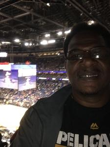 Ernest attended New Orleans Pelicans vs. Los Angeles Lakers - NBA on Mar 22nd 2018 via VetTix
