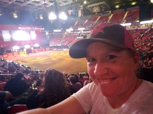 Crystal attended PBR - 25th Anniversary - Last Cowboy Standing - Tickets Good for Friday Only on May 4th 2018 via VetTix
