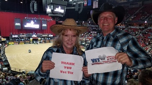 Daniel attended PBR - 25th Anniversary - Last Cowboy Standing - Tickets Good for Friday Only on May 4th 2018 via VetTix