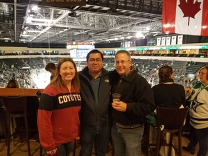 Eric attended Texas Stars vs. Rockford Icehogs - Military Appreciation Game - AHL on Apr 7th 2018 via VetTix