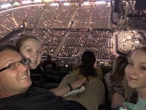 Larry attended Bon Jovi - This House is not for Sale - Tour on Mar 26th 2018 via VetTix