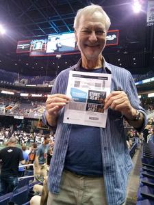 Frank attended Arizona Rattlers vs. Cedar Rapids Titans - IFL on Mar 31st 2018 via VetTix
