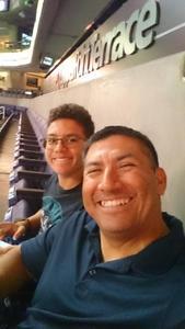 DIEGO attended Arizona Rattlers vs. Cedar Rapids Titans - IFL on Mar 31st 2018 via VetTix
