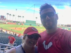 Daniel attended Cleveland Indians vs. Cincinnati Reds - MLB Spring Training on Mar 25th 2018 via VetTix