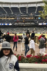 Milton attended San Diego Padres vs. Colorado Rockies - MLB on Apr 2nd 2018 via VetTix