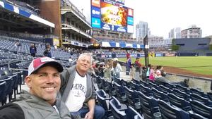 JEREMIE attended San Diego Padres vs. Colorado Rockies - MLB on Apr 2nd 2018 via VetTix