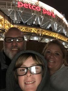 Lee attended San Diego Padres vs. Colorado Rockies - MLB on Apr 2nd 2018 via VetTix