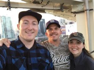 Todd attended San Diego Padres vs. Colorado Rockies - MLB on Apr 3rd 2018 via VetTix