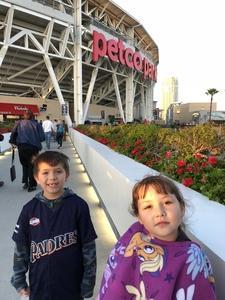 FarmerFam attended San Diego Padres vs. Colorado Rockies - MLB on Apr 3rd 2018 via VetTix